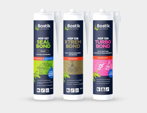 Bostik MSP New Sealant Product Range